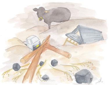 「第二章 のんびり定年後農家の章⑦」~豪雨災害~